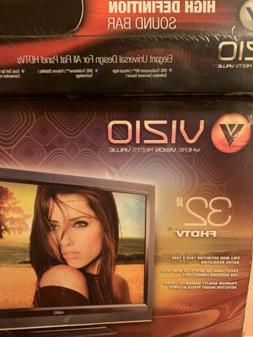 32 Inch Visio Tv Comes With Visio Sound Bar Combo.